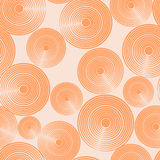 πρότυπο κύκλων άνευ ραφής Στοκ Εικόνες