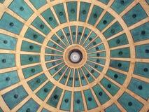 Πρότυπο κύκλων από το θόλο σε Plaza στην Κόστα Ρίκα Στοκ φωτογραφία με δικαίωμα ελεύθερης χρήσης