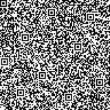 πρότυπο κώδικα ανασκόπησης qr άνευ ραφής Στοκ εικόνα με δικαίωμα ελεύθερης χρήσης