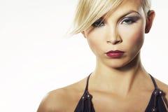 πρότυπο λευκό μόδας ανασ&kap Στοκ εικόνες με δικαίωμα ελεύθερης χρήσης