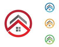 Πρότυπο λογότυπων ιδιοκτησίας Στοκ Φωτογραφίες