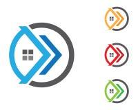 Πρότυπο λογότυπων ιδιοκτησίας Στοκ φωτογραφία με δικαίωμα ελεύθερης χρήσης