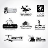 πρότυπο λογότυπων Στοκ φωτογραφία με δικαίωμα ελεύθερης χρήσης