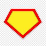 Πρότυπο λογότυπων Superhero ελεύθερη απεικόνιση δικαιώματος