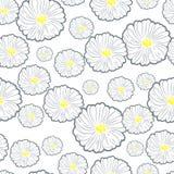 πρότυπο λουλουδιών άνευ ραφής Στοκ Φωτογραφίες