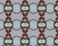 πρότυπο λουλουδιών άνευ ραφής Στοκ Φωτογραφία