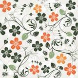 πρότυπο λουλουδιών άνε&upsilo διανυσματική απεικόνιση