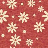 πρότυπο λουλουδιών ανασκόπησης άνευ ραφής διανυσματική απεικόνιση