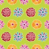 πρότυπο λουλουδιών ανα&si διανυσματική απεικόνιση
