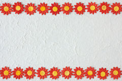 Πρότυπο λουλουδιών εγγράφου Στοκ εικόνες με δικαίωμα ελεύθερης χρήσης