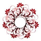 πρότυπο λουλουδιών κύκ&lambd Στοκ Εικόνα