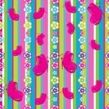 πρότυπο λουλουδιών πετ&al Στοκ φωτογραφία με δικαίωμα ελεύθερης χρήσης