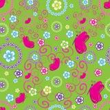 πρότυπο λουλουδιών πετ&al Στοκ εικόνα με δικαίωμα ελεύθερης χρήσης