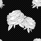 Πρότυπο λουλουδιών Στοκ εικόνες με δικαίωμα ελεύθερης χρήσης