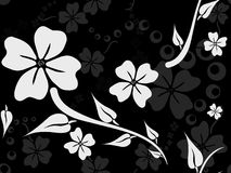 πρότυπο λουλουδιών tileable Στοκ φωτογραφία με δικαίωμα ελεύθερης χρήσης
