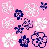 πρότυπο λουλουδιών vectorial ελεύθερη απεικόνιση δικαιώματος