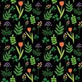 Πρότυπο λουλουδιών Στοκ Εικόνες