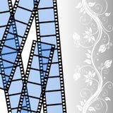 πρότυπο λουρίδων ταινιών Στοκ Φωτογραφία