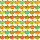 πρότυπο μήλων Στοκ εικόνα με δικαίωμα ελεύθερης χρήσης