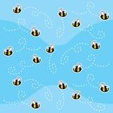 πρότυπο μελισσών Στοκ Φωτογραφία