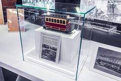 Πρότυπο μεταφορών αλόγων τροχιοδρομικών γραμμών Στοκ φωτογραφίες με δικαίωμα ελεύθερης χρήσης
