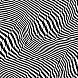 Πρότυπο με την οπτική παραίσθηση Γραπτό σχέδιο abstract background striped διανυσματική απεικόνιση