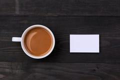 Πρότυπο με τις επαγγελματικές κάρτες Πρότυπο για το μαρκάρισμα της ταυτότητας στο W Στοκ φωτογραφίες με δικαίωμα ελεύθερης χρήσης