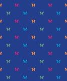 Πρότυπο με τις πεταλούδες Ελεύθερη απεικόνιση δικαιώματος