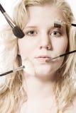 πρότυπο μολύβι Στοκ εικόνα με δικαίωμα ελεύθερης χρήσης