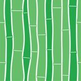πρότυπο μπαμπού άνευ ραφής Απεικόνιση αποθεμάτων