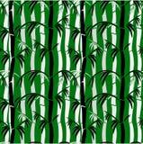 πρότυπο μπαμπού άνευ ραφής Στοκ εικόνες με δικαίωμα ελεύθερης χρήσης
