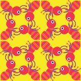 πρότυπο μυρμηγκιών άνευ ρα&ph Στοκ Φωτογραφία