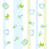 πρότυπο μωρών Στοκ εικόνα με δικαίωμα ελεύθερης χρήσης