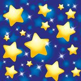 πρότυπο νύχτας Στοκ εικόνα με δικαίωμα ελεύθερης χρήσης