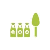 Πρότυπο λογότυπων γεωργίας Ελεύθερη απεικόνιση δικαιώματος