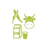 Πρότυπο λογότυπων γεωργίας Διανυσματική απεικόνιση