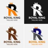 Πρότυπο λογότυπων γραμμάτων Ρ Στοκ Φωτογραφία