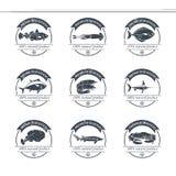 Πρότυπο λογότυπων θαλασσινών Στοκ εικόνα με δικαίωμα ελεύθερης χρήσης