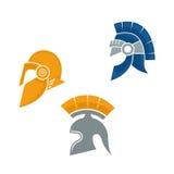 Πρότυπο λογότυπων του Castle Ελεύθερη απεικόνιση δικαιώματος