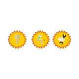 Πρότυπο λογότυπων Carmaintenance Ελεύθερη απεικόνιση δικαιώματος