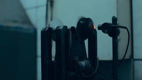 Πρότυπο δομών στροβίλων, απεικόνιση με τη διατομή Εξισορρόπηση στροφέων στροβιλοσυμπιεστών απόθεμα βίντεο