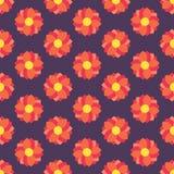 πρότυπο λουλουδιών άνευ ραφής Στοκ εικόνα με δικαίωμα ελεύθερης χρήσης