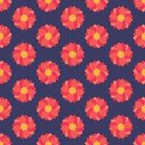 πρότυπο λουλουδιών άνευ ραφής Στοκ φωτογραφία με δικαίωμα ελεύθερης χρήσης