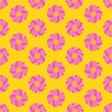 πρότυπο λουλουδιών άνευ ραφής Στοκ φωτογραφίες με δικαίωμα ελεύθερης χρήσης