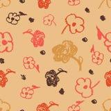 πρότυπο λουλουδιών άνε&upsilo Στοκ φωτογραφίες με δικαίωμα ελεύθερης χρήσης