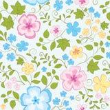 Πρότυπο λουλουδιών Στοκ εικόνα με δικαίωμα ελεύθερης χρήσης