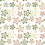 πρότυπο 02 λουλουδιών Στοκ Εικόνες