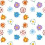 πρότυπο 02 λουλουδιών Στοκ φωτογραφίες με δικαίωμα ελεύθερης χρήσης