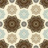 Πρότυπο λουλουδιών abstract seamless wallpaper Στοκ Εικόνες