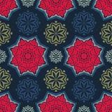 Πρότυπο λουλουδιών abstract seamless wallpaper Στοκ φωτογραφία με δικαίωμα ελεύθερης χρήσης